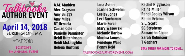 Talk books 2018