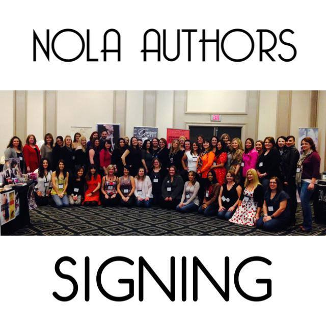 Nola author signing