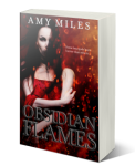 Obsidian Flames 3d